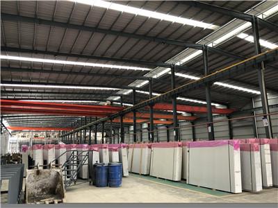 建材行业起重机应用