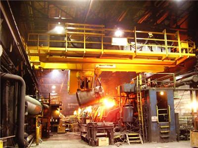冶金铸造熔炼起重机应用